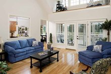 Country Interior - Family Room Plan #929-697