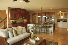 Traditional Interior - Kitchen Plan #320-990
