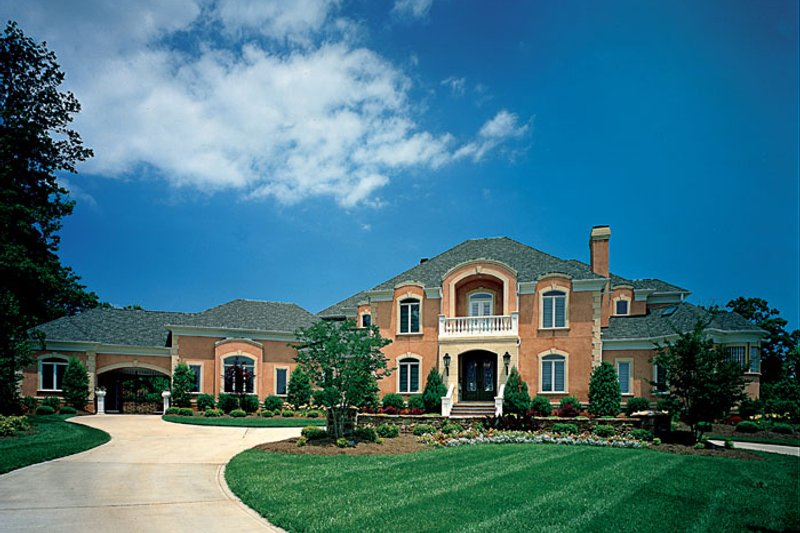 Dream House Plan - European Exterior - Front Elevation Plan #453-46