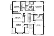 Craftsman Style House Plan - 4 Beds 2.5 Baths 2651 Sq/Ft Plan #132-210 Floor Plan - Upper Floor Plan