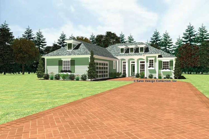 Classical Exterior - Front Elevation Plan #930-439 - Houseplans.com