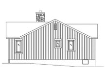 House Plan Design - Cottage Exterior - Other Elevation Plan #22-589