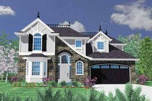 Traditional Exterior - Front Elevation Plan #509-366