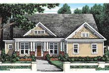 Craftsman Exterior - Front Elevation Plan #927-928