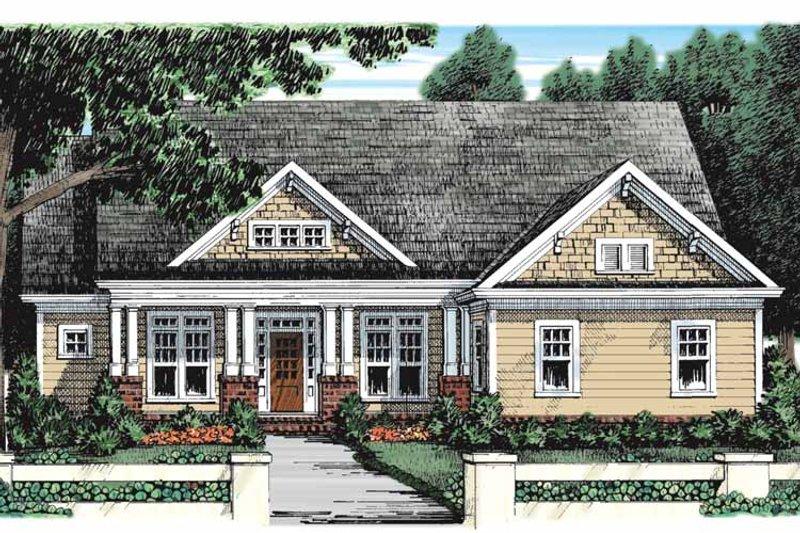 Craftsman Exterior - Front Elevation Plan #927-928 - Houseplans.com