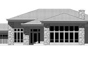 Contemporary Style House Plan - 3 Beds 2 Baths 3894 Sq/Ft Plan #943-19 Exterior - Front Elevation