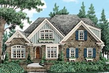 Country Exterior - Front Elevation Plan #927-430