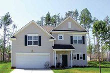 Colonial Exterior - Front Elevation Plan #453-265