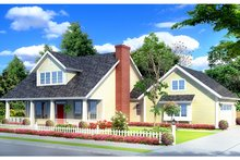 House Plan Design - Country Exterior - Front Elevation Plan #513-2141