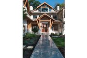 Traditional Style House Plan - 4 Beds 6 Baths 7829 Sq/Ft Plan #928-247 Exterior - Front Elevation