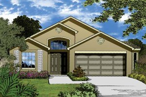 House Design - Country Exterior - Front Elevation Plan #1015-26