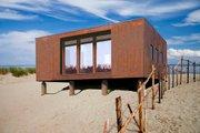 Modern Style House Plan - 1 Beds 1 Baths 370 Sq/Ft Plan #915-17