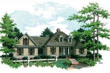 Home Plan - European Exterior - Front Elevation Plan #45-121