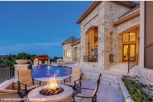 European Exterior - Outdoor Living Plan #930-516