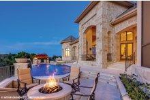 Dream House Plan - European Exterior - Outdoor Living Plan #930-516