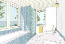 Ranch Interior - Master Bathroom Plan #445-6