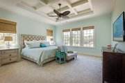 Farmhouse Style House Plan - 4 Beds 4.5 Baths 2892 Sq/Ft Plan #938-82 Interior - Master Bedroom
