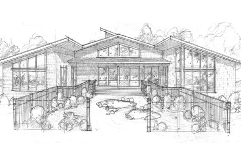 Modern Photo Plan #509-9 - Houseplans.com