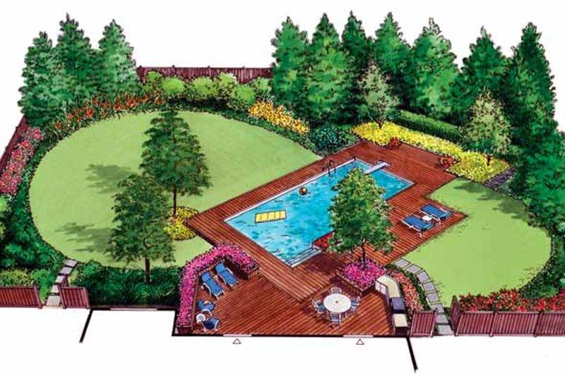 Exterior - Front Elevation Plan #1040-48 - Houseplans.com