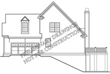 Colonial Exterior - Other Elevation Plan #927-973