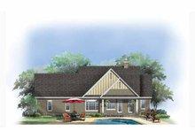 Craftsman Exterior - Rear Elevation Plan #929-879