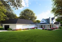 Farmhouse Exterior - Rear Elevation Plan #923-101