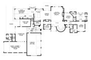 European Style House Plan - 4 Beds 4.5 Baths 7149 Sq/Ft Plan #48-689 Floor Plan - Main Floor Plan