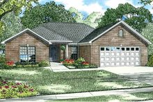 House Plan Design - Ranch Exterior - Front Elevation Plan #17-2712