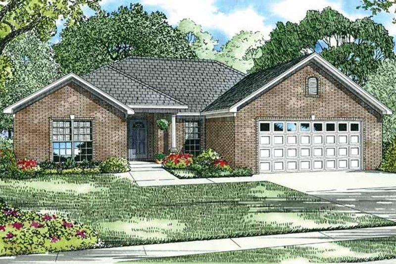 House Plan Design - Ranch Exterior - Front Elevation Plan #17-2712