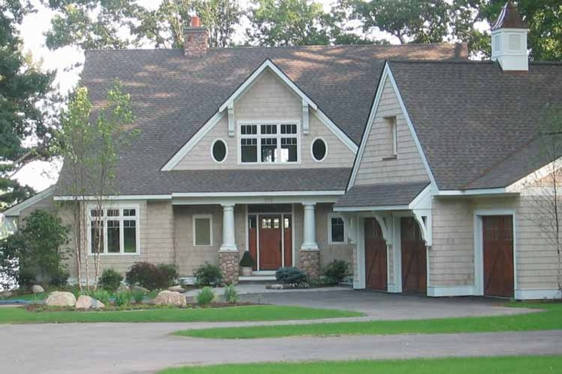Craftsman Exterior - Front Elevation Plan #928-21 - Houseplans.com