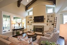 House Plan Design - Traditional Interior - Family Room Plan #928-271