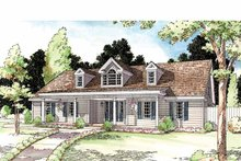 Home Plan - Country Exterior - Front Elevation Plan #1029-49