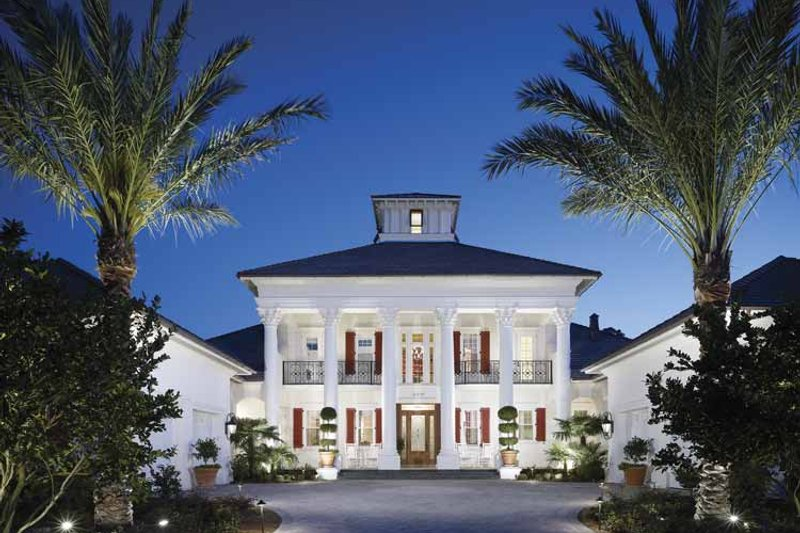 Architectural House Design - Southern Exterior - Front Elevation Plan #930-354