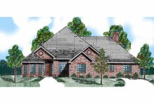 House Plan Design - Traditional Exterior - Front Elevation Plan #52-269