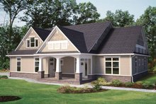 Contemporary Exterior - Front Elevation Plan #11-272