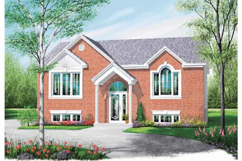 Traditional Exterior - Front Elevation Plan #23-2362 - Houseplans.com