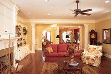 Classical Interior - Family Room Plan #37-275