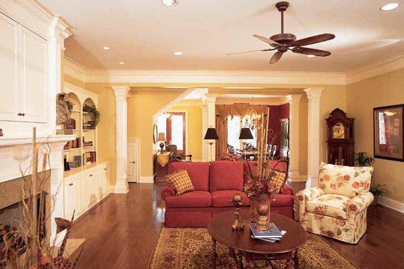 Classical Interior - Family Room Plan #37-275 - Houseplans.com