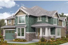 Craftsman Exterior - Front Elevation Plan #132-448