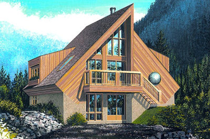 Contemporary Exterior - Front Elevation Plan #23-751