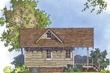 Country Exterior - Other Elevation Plan #1016-71