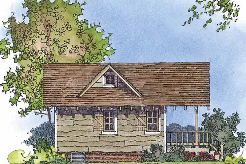 Country Exterior - Other Elevation Plan #1016-71 - Houseplans.com