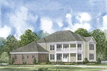 House Plan Design - Colonial Exterior - Front Elevation Plan #952-201