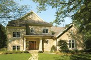 Traditional Style House Plan - 3 Beds 2.5 Baths 2878 Sq/Ft Plan #928-107 Exterior - Front Elevation