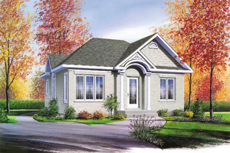 Home Plan - Cottage Exterior - Front Elevation Plan #23-115
