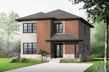 House Plan Design - Contemporary Exterior - Front Elevation Plan #23-2553