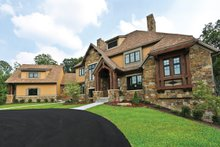 Dream House Plan - European Exterior - Front Elevation Plan #928-267
