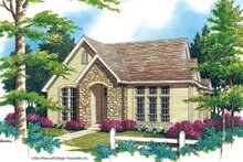 Dream House Plan - Cottage Exterior - Front Elevation Plan #48-519