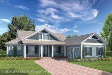 Home Plan - Country Exterior - Front Elevation Plan #930-467