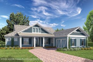 Country Exterior - Front Elevation Plan #930-467